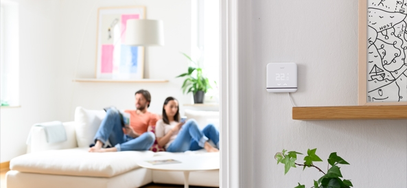 Visuel ambiance thermostat intelligent tado