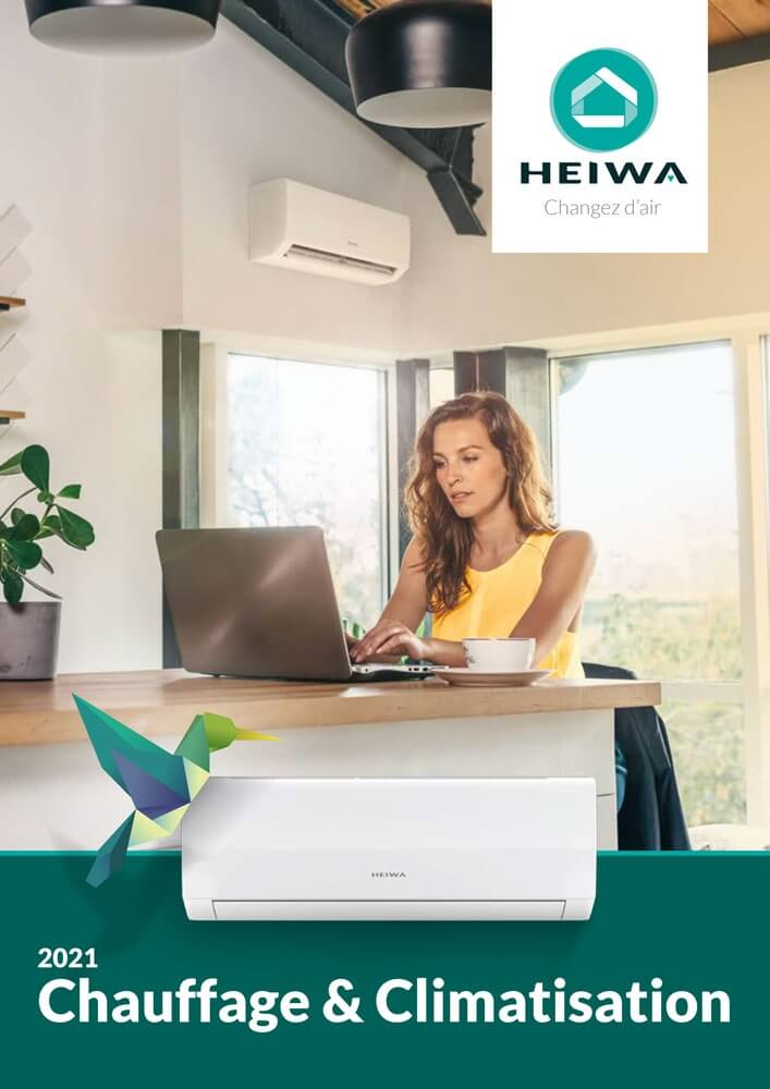 couverture nouveau catalogue heiwa 2021