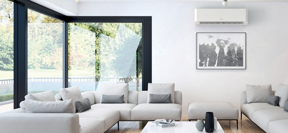 Mural Heiwa dans un salon